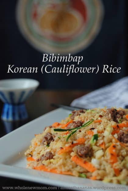 Bibimbap - Paleo Korean Fried Rice