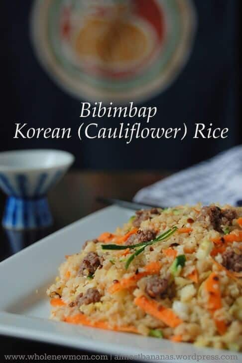 Bibimbap – Korean Fried Rice (paleo, grain free, AIP options)
