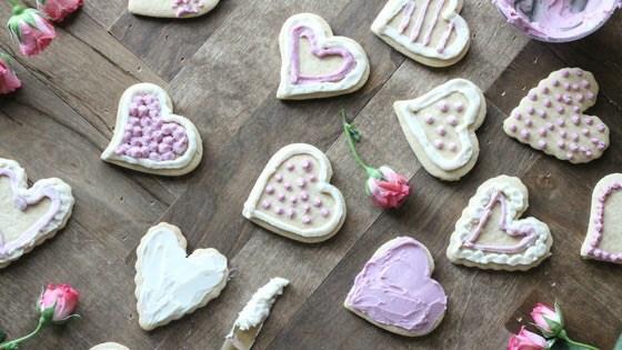 Gluten-Free Valentine's Cookies - Paleo Sugar Cookies with Cassava Flour
