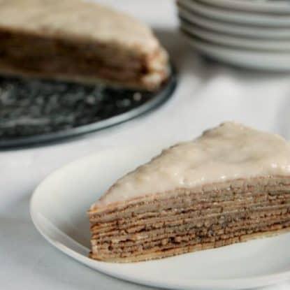 Buckwheat Crepe Cake - Gluten Free Cake