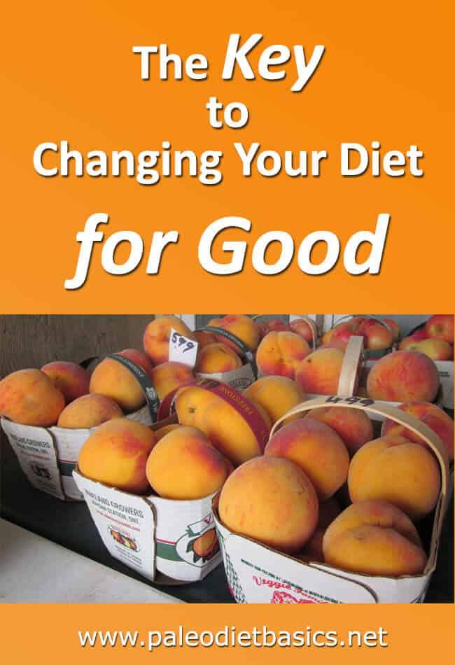 How to Change to a Healthy Diet for Good!