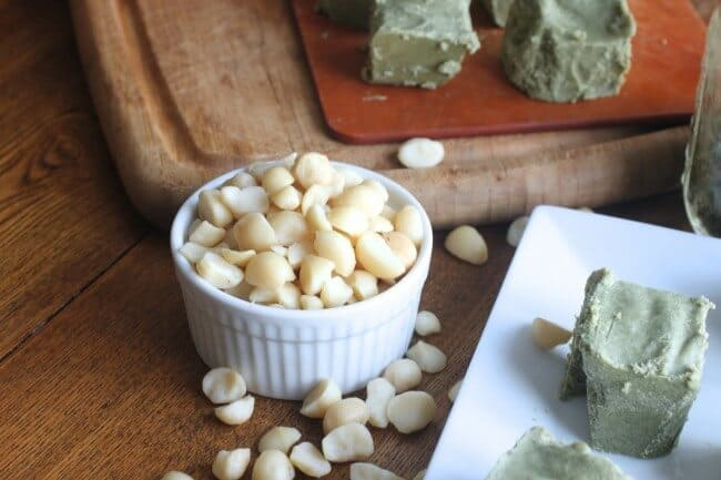 Mint Fudge Recipe - Vegan and Sugar Free with Natural Colors. Great for St. Patrick's Day