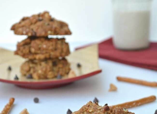 Ever gone to make Chocolate Chip Cookies but someone had eaten almost all of your chips? Here's the solution!