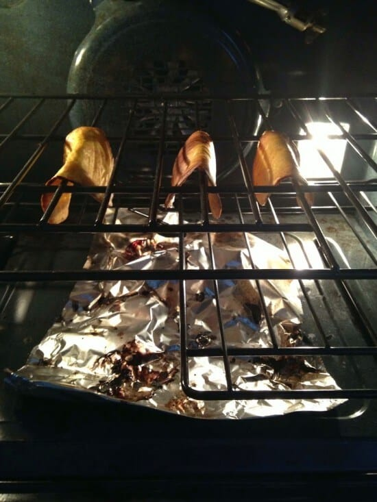 Grain-free taco shells in the oven