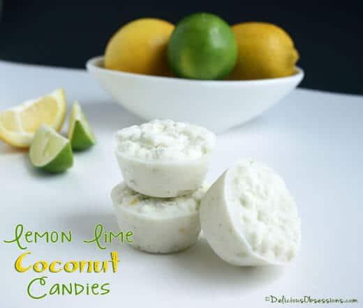 Lemon Lime Coconut Candy