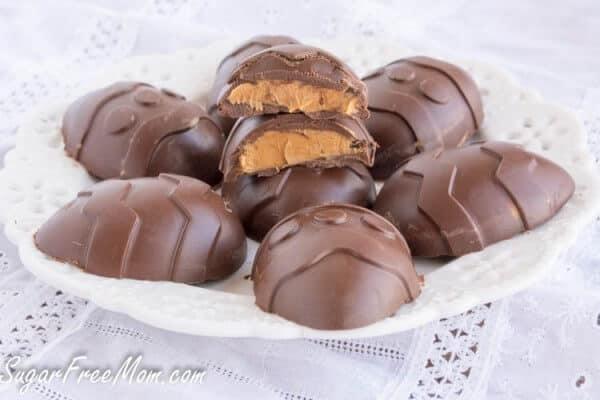 Sugar Free Peanut Butter Eggs - Easter Recipes