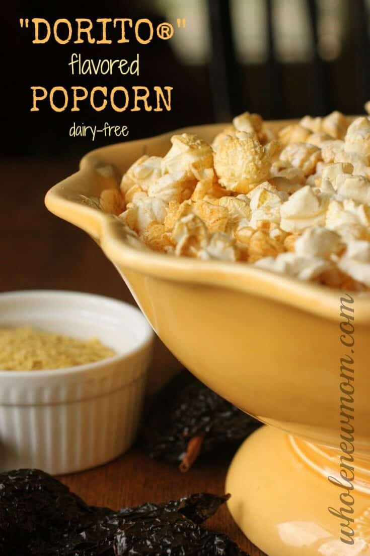 Get Dorito Flavor without the chemicals with this Dorito Popcorn!