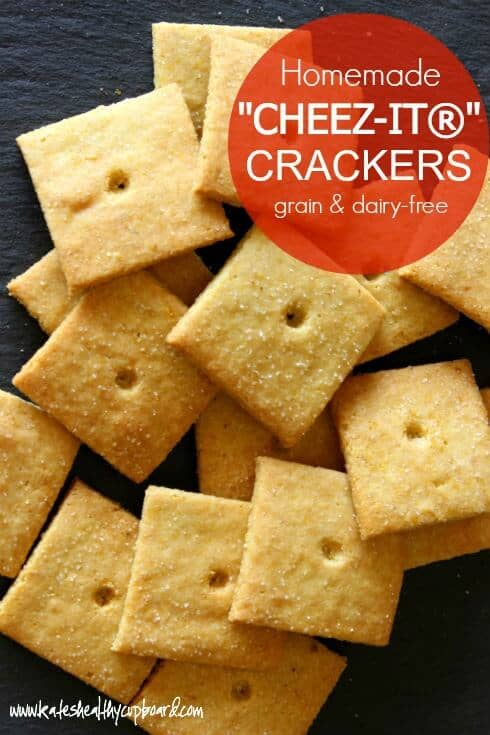 Grain free Healthy Cheez Its