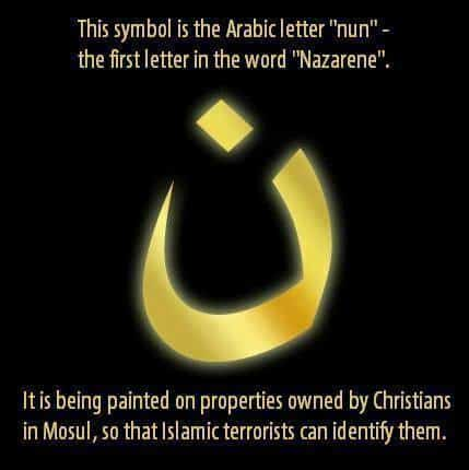 ISIS Symbol to Identify Christians in Iraq