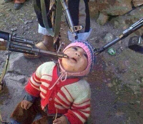 ISIS beheading children