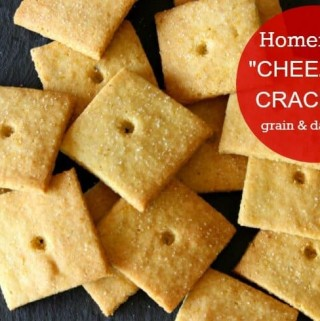 """Grain-free and Dairy-free """"CHEEZ-IT®"""" CRACKERS! A yummy healthy treat you can feel good about eating! Low Carb and guilt free, I bet you can't eat just one!"""
