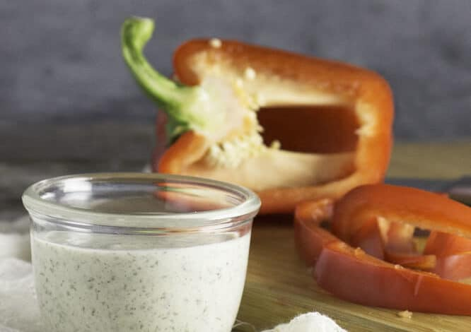 Vegan Ranch Dressing Recipe – dairy, egg, nut, allergy free