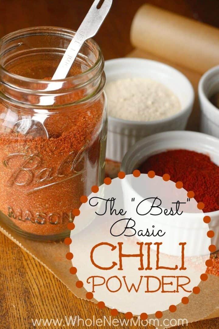 Homemade Chili Powder Recipe