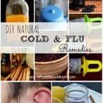 Got the sniffles or flu? Here are Loads of DIY Natural Cold Remedies and Flu Remedies to help you keep the bugs at bay and get feeling better fast! Save money and a trip to the store by using what you have in your pantry to get healthier.