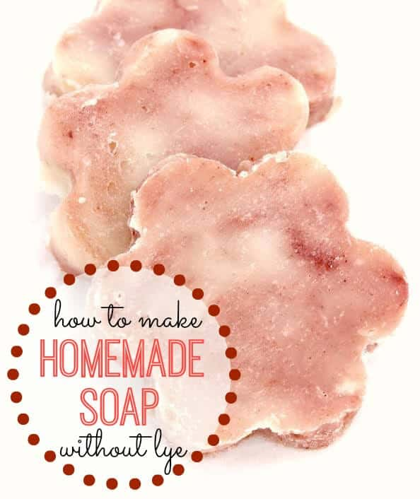 Want to make soap but you're worried about caustic lye? Here's How to