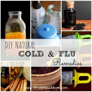 "These DIY Natural Cold Remedies and Natural Flu Remedies will help you and your family keep from getting sick and feel better should you catch a ""bug."""