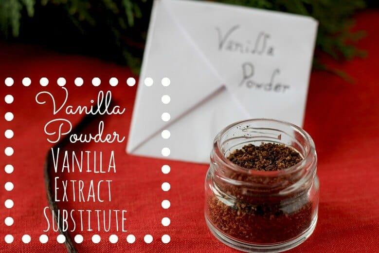 Toasted Vanilla Powder - a Vanilla Extract Substitute
