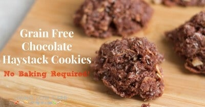 Chocolate Haystack Cookies