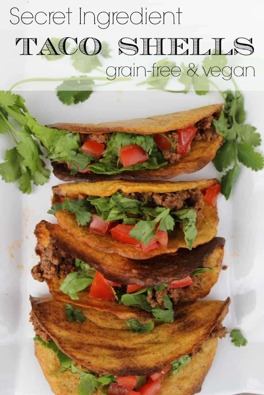 Grain-free taco shells