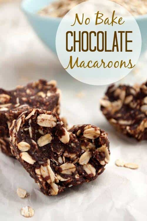 Looking for a healthy dessert? These no bake macaroons are delicious and have a low carb option. No bake cookies are one of my favorite things to make because I can whip them up in a flash.