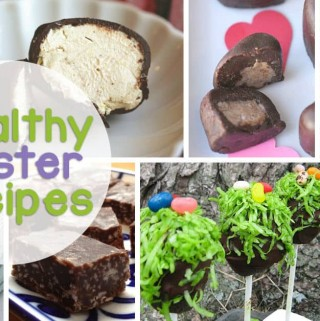 Instead of giving in to Sugar and Color Filled Treats, enjoy these Healthy Easter Recipes - From Healthy Cadbury Eggs to Natural Egg Dyes you're covered!