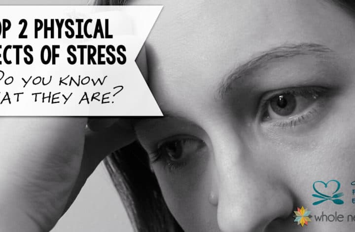 worried woman with head in hands for post about physical effects of stress