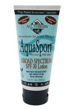Aquasport sunscreen