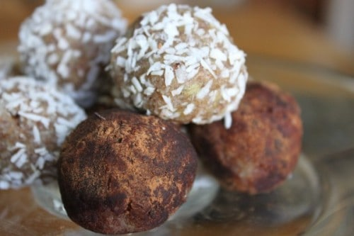 Almond Butter Truffles