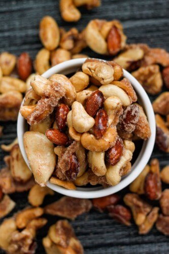 Sugar-Free Caramelized Nuts