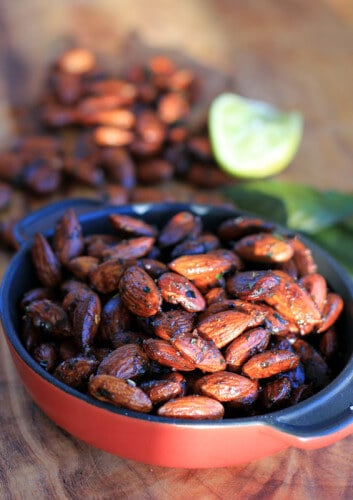 Red Chili & Lime Toasted Almonds