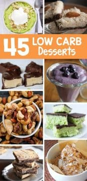 Are you watching your carb intake? These low carb desserts are sure to make you drool and help you stay on your special diet! All are vegan desserts too!