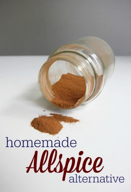 Homemade Allspice Alternative