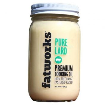 Lard from Pasture-raised pigs. High quality lard from Wise Choice Markets