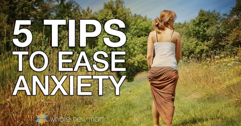 Got anxiety? Here are 5 Easy Natural Remedies for Anxiety to help you deal with it right now. Relief is on the way!
