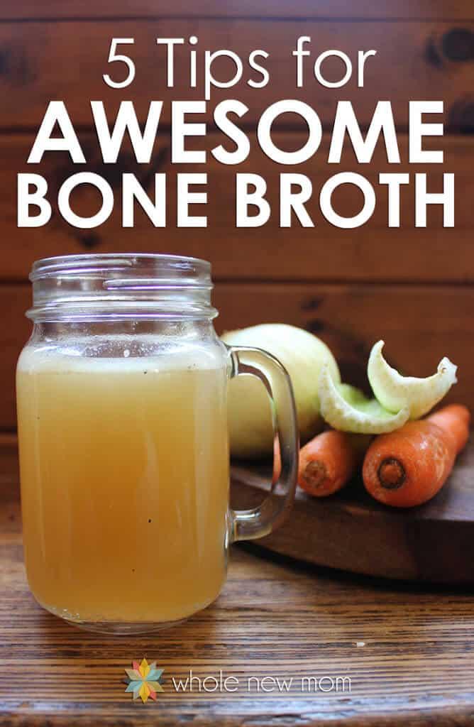 Chicken bone broth recipe