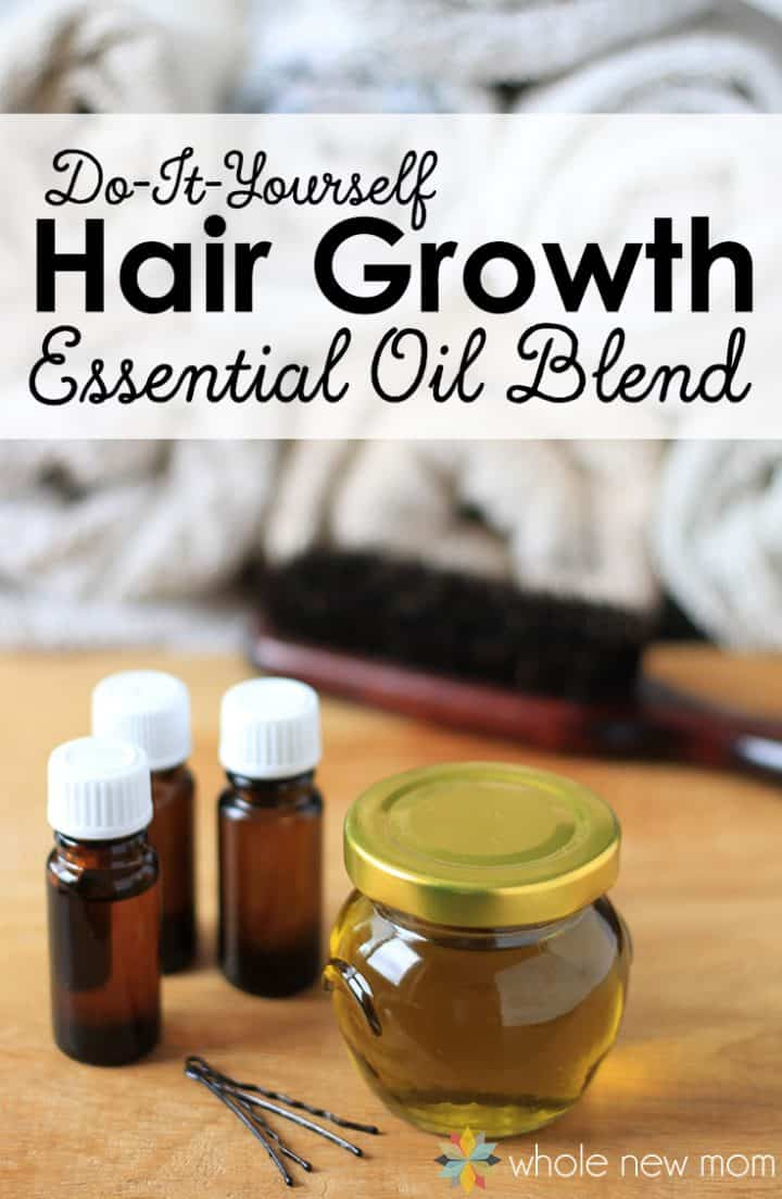 Essential Oils for Hair Growth Blend | DIY Essential Oils Hair Growth Blend