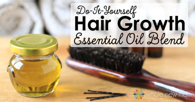 Essential Oils for Hair Growth - DIY Essential Oils for Hair Loss Blend