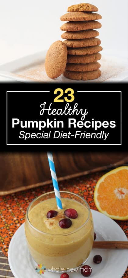 A roundup of special-diet friendly pumpkin recipes that are sure to please! Pumpkin Pie, Pumpkin Cookies, Pumpkin Fudge, and more! This list has recipes that fit special diets like low carb, candida diet, paleo, gluten free, GAPS, AIP, and more.