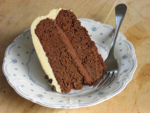 Gluten-Free Chocolate Pumpkin Cake