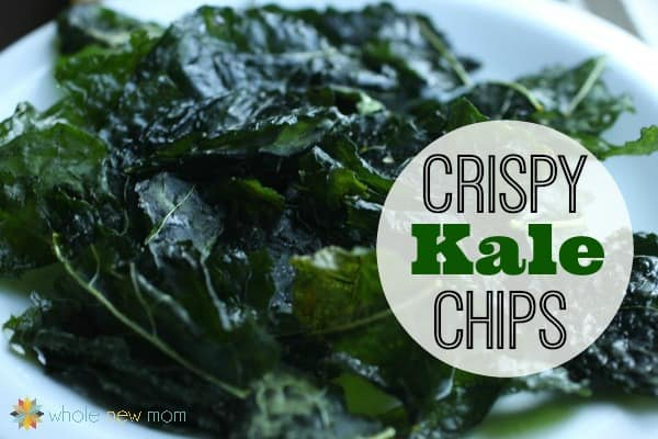 Have you tried Kale Chips? They're super easy to make and super nutritious! My kids LOVE them--it's one chip you can feel good about them eating, and they're a fortune in the health food store. So make 'em yourself and SAVE!