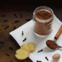 """Want to whip up a pumpkin treat, but don't have any """"pumpkin pie spice"""" on hand? Here's how to make your own DIY pumpkin pie spice blend frugally – without any fillers – while still getting the same great taste!"""