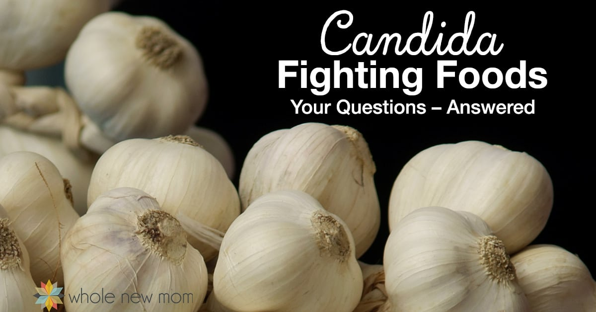 Garlic - Candida Fighting Foods