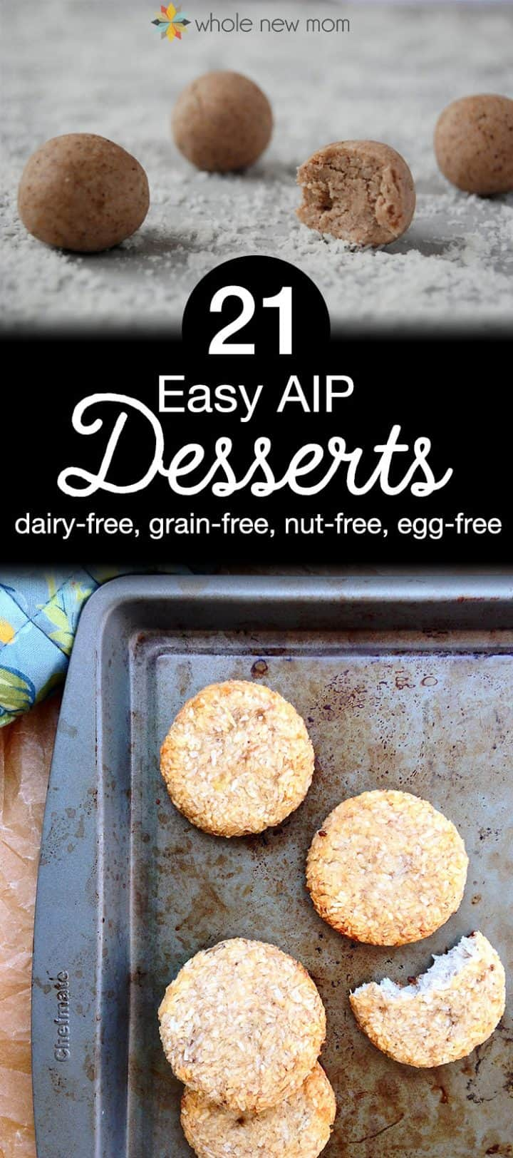 Easy AIP Desserts