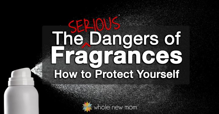 white bottle spraying substance for fragrance dangers article