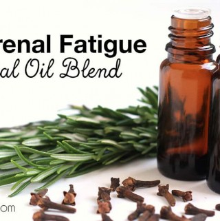 Adrenal fatigue is a bit of a mystery, but many things contribute to it, like toxins, thyroid issues, blood sugar issues, and anxiety/stress. And once you have it, it's hard to get out since it all becomes a vicious cycle. Here's one simple way to support your adrenals and help you feel and sleep better – a blend of two essential oils you probably already have on hand!