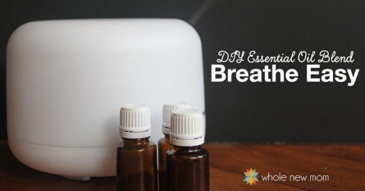 Essential Oils for Cough - DIY Breathe Easy Essential Oils Blend