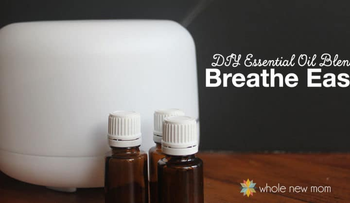 Essential oils for cough. DIY Breathe Easy Essential Oils Blend