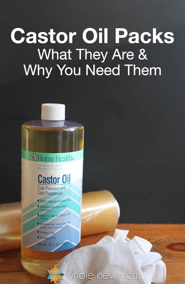 Castor Oil Pack Ingredients