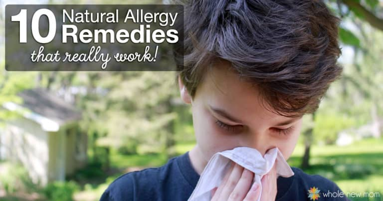 10 Natural Allergy Remedies that Really Work   Whole New Mom