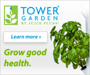 Juice Plus' Tower Garden gives you more control over your family's health by making it easy to grow fresh, nutritious produce.
